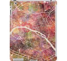 Paris map iPad Case/Skin