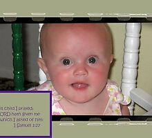 For This Child I Prayed by aprilann