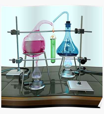 Impossible chemistry experiment Poster