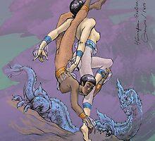 Himmapan Erotica : Gemini by jatujeep