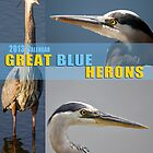 Great Blue Heron Calendar Cover by imagetj