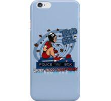Tardis Girl iPhone Case/Skin