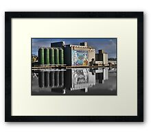 River in Waterford Framed Print