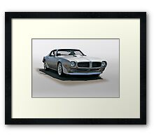 1971 Pontiac Firebird Framed Print
