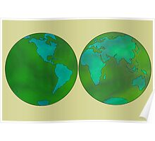 world map1 Poster