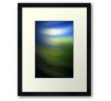 Blue Green Framed Print