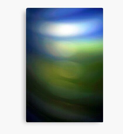 Blue Green Canvas Print