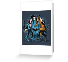 Mortal Spies Greeting Card