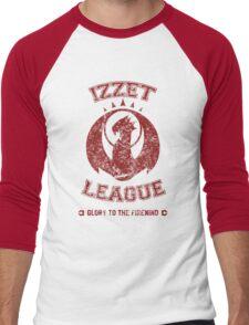 IZZET LEAGUE Men's Baseball ¾ T-Shirt