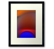 Blue Semi Framed Print