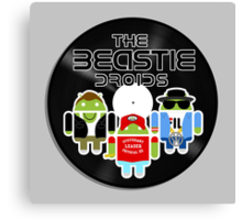 THE BEASTIE DROIDS Canvas Print