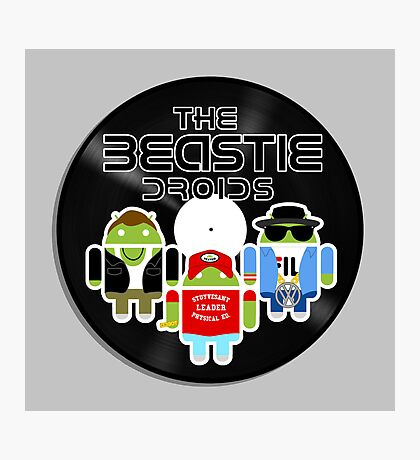 THE BEASTIE DROIDS Photographic Print