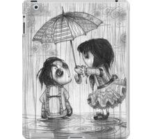 Falling Graphite iPad Case/Skin