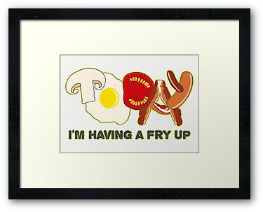 Today I'm having a fry up by Emma Harckham