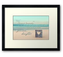 The Loss of a Daughter Framed Print