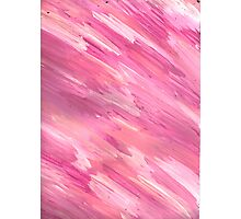 STREAKY PINKS Photographic Print