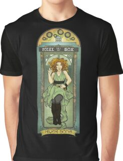 River Song ArtNerdveau Graphic T-Shirt