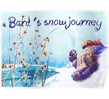Snow Day Bard League of Legends Poster