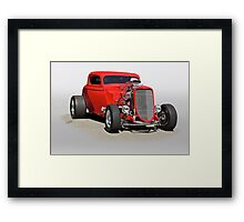 1934 Ford 'Mean and Nasty' Coupe Framed Print