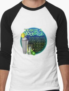 Tequila Moonrise recipe by Valxart     Men's Baseball ¾ T-Shirt