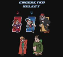 Gravity Falls Character Select by studown