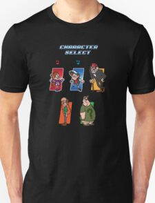 Gravity Falls Character Select T-Shirt