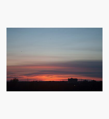Oshawa Sunset Photographic Print
