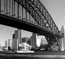 Sydney Harbour  by myraj
