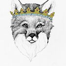 Crowned Fox by Alice Prior