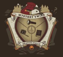 Mystery Twins Crest by studown