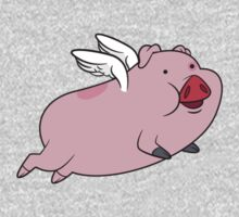 When Waddles Flies One Piece - Long Sleeve