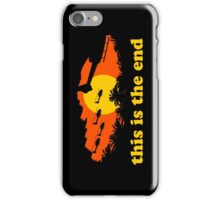 Apocalypse Now: This is the end iPhone Case/Skin
