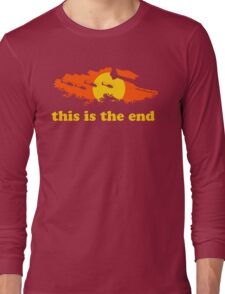 Apocalypse Now: This is the end Long Sleeve T-Shirt