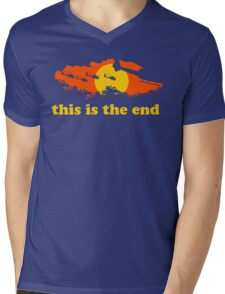 Apocalypse Now: This is the end Mens V-Neck T-Shirt