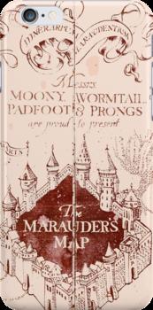 Marauders Map Harry Potter by eatorcs
