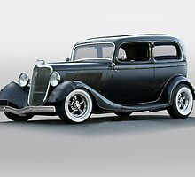 1934 Ford 'Victoria' Sedan by DaveKoontz
