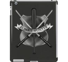 Zombie hunter shield iPad Case/Skin