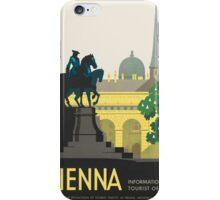 Vintage poster - Vienna iPhone Case/Skin