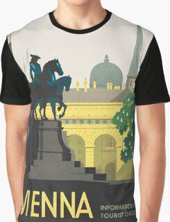 Vintage poster - Vienna Graphic T-Shirt