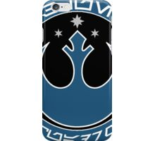Star Wars Episode VII - Blue Squadron (Resistance) - Insignia Series iPhone Case/Skin
