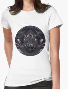 Purple Magic Womens Fitted T-Shirt