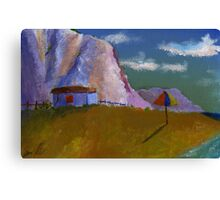 Beach shade Canvas Print