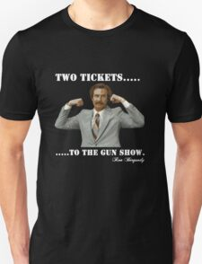 "Anchorman - Ron Bergundy ""Gun Show"" T-Shirt"