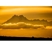 The Floating Mountain Photographic Print