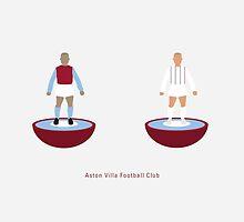 Aston Villa - Subbuteo by homework