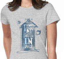 My Little Tardis Womens Fitted T-Shirt