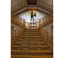 Gilded Staircase Photographic Print