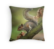 Tails Up! Throw Pillow