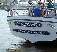 Madeline (Stern) - Bay City Tall Ship Celebration (2010) by Francis LaLonde