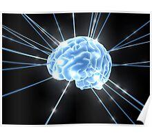 Brain Glow Energy Poster